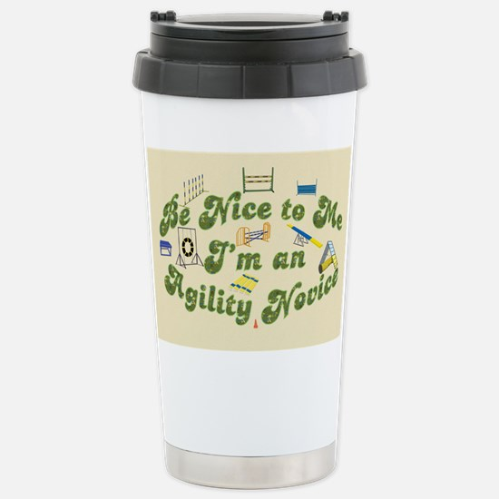 Agility Novice Stainless Steel Travel Mug