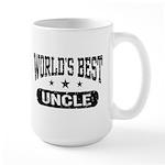 World's Best Uncle Large Mug