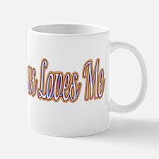 I Know Jesus Loves Me Mug