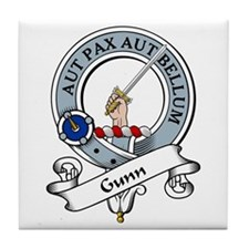 Gunn Clan Badge Tile Coaster