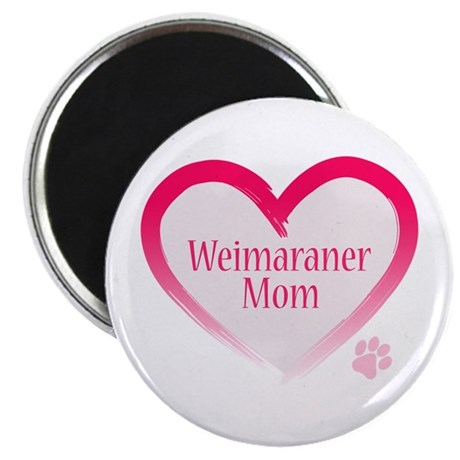 "Pug Mom 2.25"" Magnet (10 pack)"
