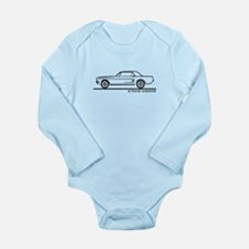 1968 Ford Mustang Hardtop Long Sleeve Infant Bodys