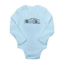 1968 Ford Mustang Fastback Long Sleeve Infant Body