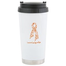 Leukemia Love Hope Travel Mug