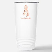 Leukemia Love Hope Travel Mug