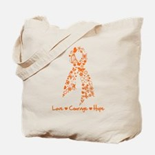 Leukemia Love Hope Tote Bag