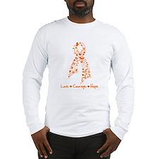 Leukemia Love Hope Long Sleeve T-Shirt