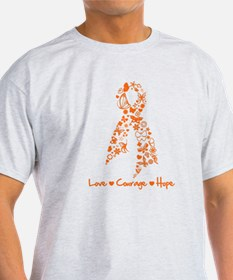 Leukemia Love Hope T-Shirt