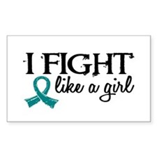 Licensed Fight Like A Girl 18. Decal