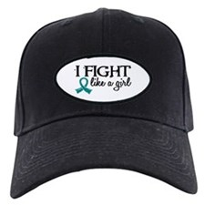 Licensed Fight Like A Girl 18.7 Ovarian Baseball Hat