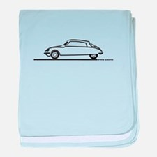 Citroen DS 21 baby blanket