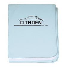 Citroen DS 21 baby blanket