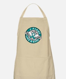 Licensed Fight Like A Girl 16.5 Ovarian Canc Apron