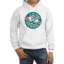 Licensed Fight Like A Girl 16.5 Hoodie