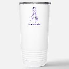Butterfly Hodgkin's Lymphoma Travel Mug
