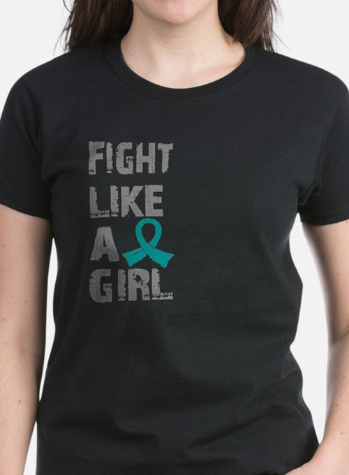 Licensed Fight Like A Girl 21 Tee