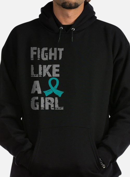 Licensed Fight Like A Girl 21.8 Ovar Hoodie
