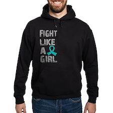 Licensed Fight Like A Girl 21.8 Ovar Hoody