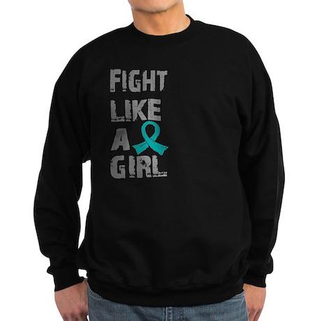 Licensed Fight Like A Girl 21.8 Sweatshirt (dark)