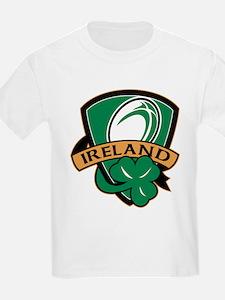 rugby ireland shamrock T-Shirt