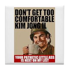 Kim Jong Il's Next Tile Coaster