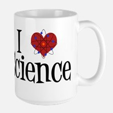 I Love Science Large Mug