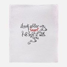Look after my heart Eclipse Throw Blanket