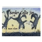 Susan alison border collie calenders 2018 Wall Calendars