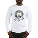 Gray Clan Badge Long Sleeve T-Shirt