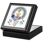 Gray Clan Badge Keepsake Box