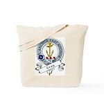 Gray Clan Badge Tote Bag