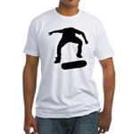 Skate On Fitted T-Shirt