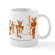 Sego Canyon Glyphs Small Small Mug