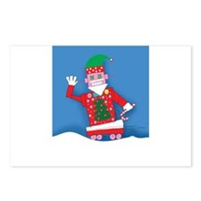 Holiday Cards- Robot Postcards (Package of 8)