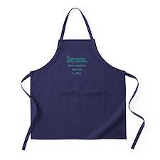 Sarcasm, service i offer Apron (dark)