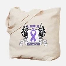 Hodgkin's Lymphoma Survivor Tote Bag