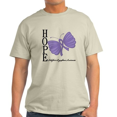 Hope Hodgkins Lymphoma Light T-Shirt