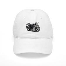 Ninja Silver Bike Baseball Cap