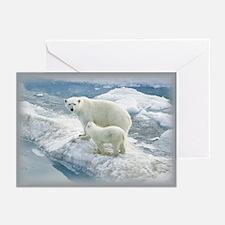 Polar Bears Greeting Cards (Pk of 10)