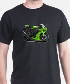 Ninja Green Bike T-Shirt