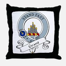Grant Clan Badge Throw Pillow