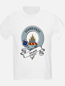 Grant Clan Badge Kids T-Shirt