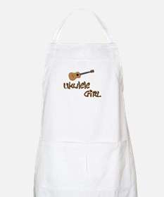 girls ukulele Apron
