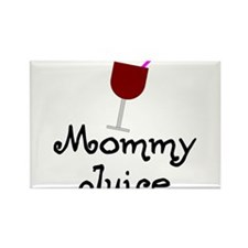 Mommy Juice Red Wine Shirt Rectangle Magnet