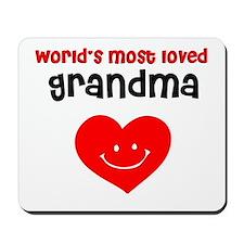 World's most loved Grandma Mousepad