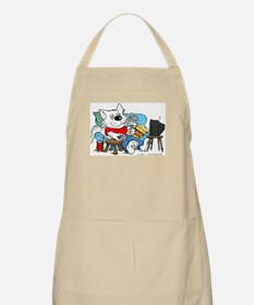 Couch Potato Cat in Color Apron