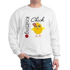 Knitting Chick Sweatshirt