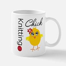Knitting Chick Mug
