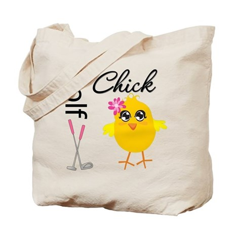 Golf Chick v2 Tote Bag
