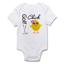 Golf Chick v2 Infant Bodysuit